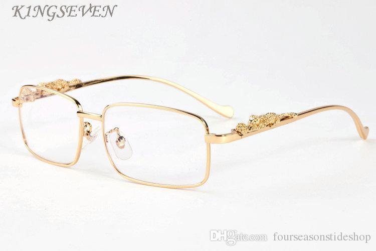 2020 esporte da forma de populares óculos de sol Polaroid por homens mulheres arrefecer ouro, prata padrão de leopardo armação de metal cinza preto sem aro lente clara