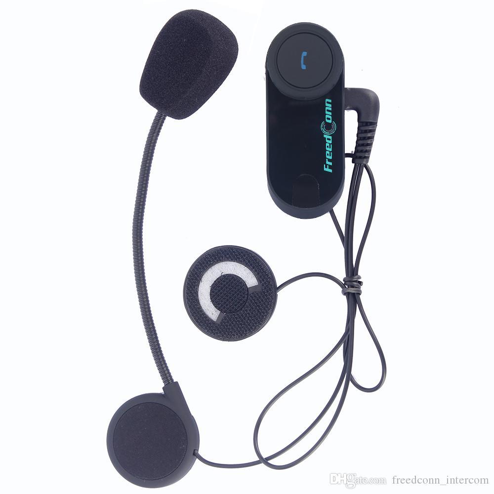 FreedConn 2 PZ MP3 FM Radio 800 M Moto Bluetooth Citofono del Casco Rider A Rider Itnercom BT Interphone Cuffie Casco Wireless
