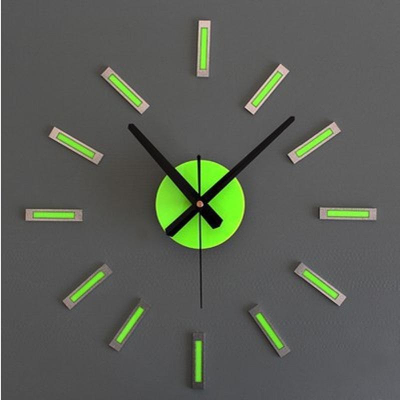 fcaaadc4387 Venda por atacado - Relógio De Parede DIY Relógio De Design Moderno Saat  Relógios De Parede Reloj De Pared Relogio Parede De Parede Duvar Saati  Relogio ...