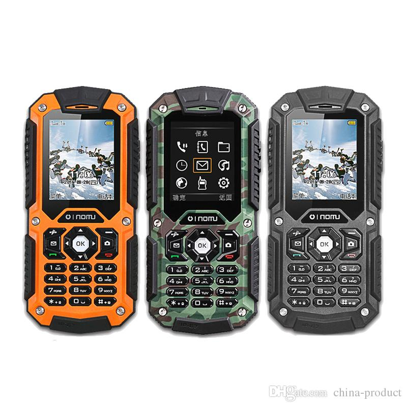 NOMU LM128C Rugged Phone original Chinese brand waterproof shockproof dustproof IP67 cellphone 2G sim card outdoor cell