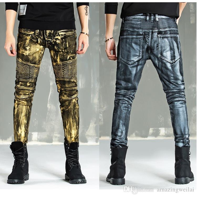 Painted Jeans Mens