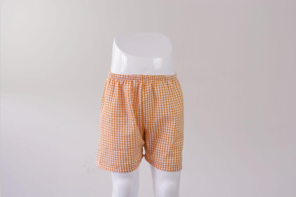 2017 garçon shorts vêtements de bébé en gros nouvelle venue mode garçons seersucker shorts