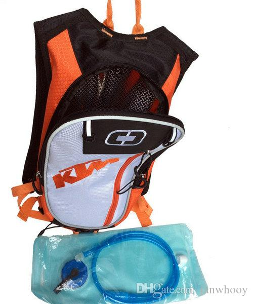 transporte motocicleta livre Motocross KTM Hidratação embalar novo estilo sacos de viagem sacos de correr pacotes de bicicleta capacete embalar BB-KTM-06