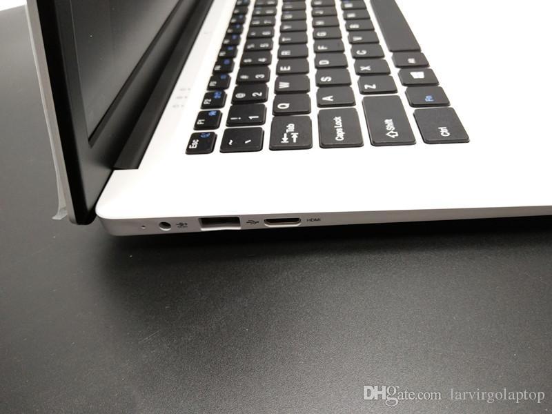 15.6 inch 4G RAM 64G SSD In-tel Atom X5-Z8300 Windows10 HDMI WIFI System Laptop with 8000mAh high Battery USB3.0 webcam camera