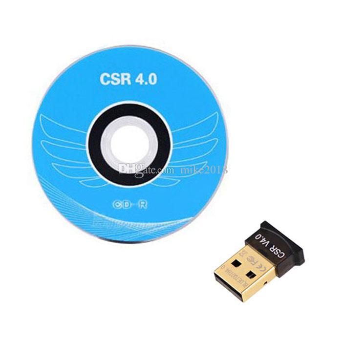 Мини USB Bluetooth адаптер V4.0 КСО двойной режим беспроводной Bluetooth ключ 4.0 передатчик для Windows 10 8 Win 7 Vista XP 32/64 бит