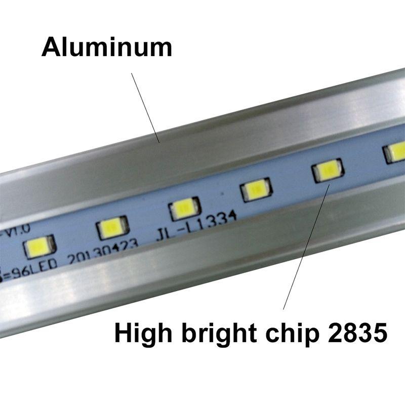 Stock en US + 4FT Tubo LED 22W 28W Cálido Fresco blanco 1200mm 4 pies SMD2835 / Bulbos fluorescentes LED super brillante AC85-265V UL