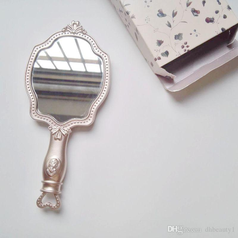 LADUREE Les Merveilleuses HAND MIRROR cosmetics Makeup Princesspocket mirror Compact Vintage Japan brand