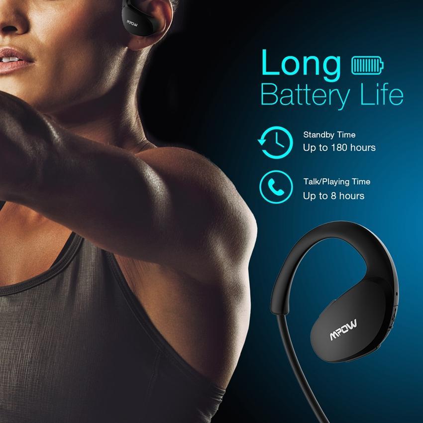 dhgate Bluetooth Casque Sans fil V4.1 Casque Sport pour la course à la sueur pour la course à l'exercice Construit dans la micro Appel mains libres écouteur