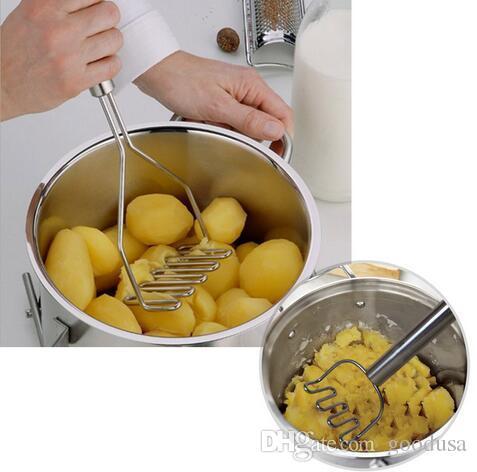 Chegam novas Utensílios de Cozinha Batata Lama Pressão Lama Máquina de Batata Espremedor de Batatas Puré de Pressão Dispositivo de Frutas Vegetal via dhl