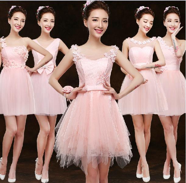 Compre Color Rosa Con 8 Patrones Tamaño Us2 Us8 Mujeres De La Boda ...