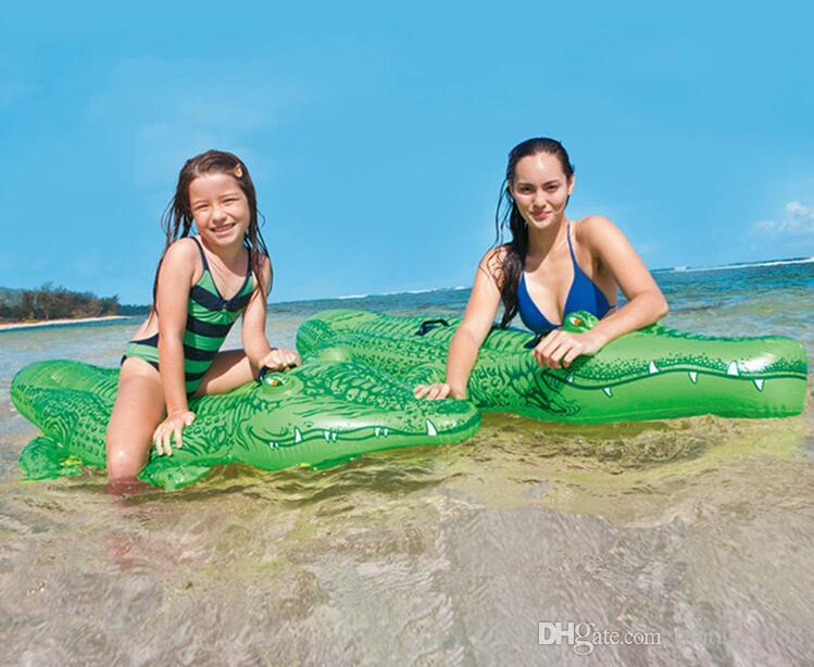 Playa de verano para niños Flotadores inflables Niños en la piscina Juguetes para nadar Agua inflable Flotador de natación Aminal Raft Colchón de aire 3-9 días Barco