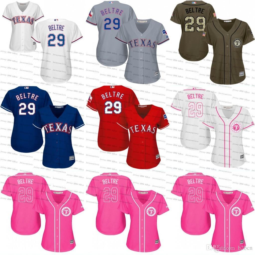 designer fashion 8eeb1 b90d8 mlb jerseys texas rangers 29 adrian beltre blue signed mlb ...