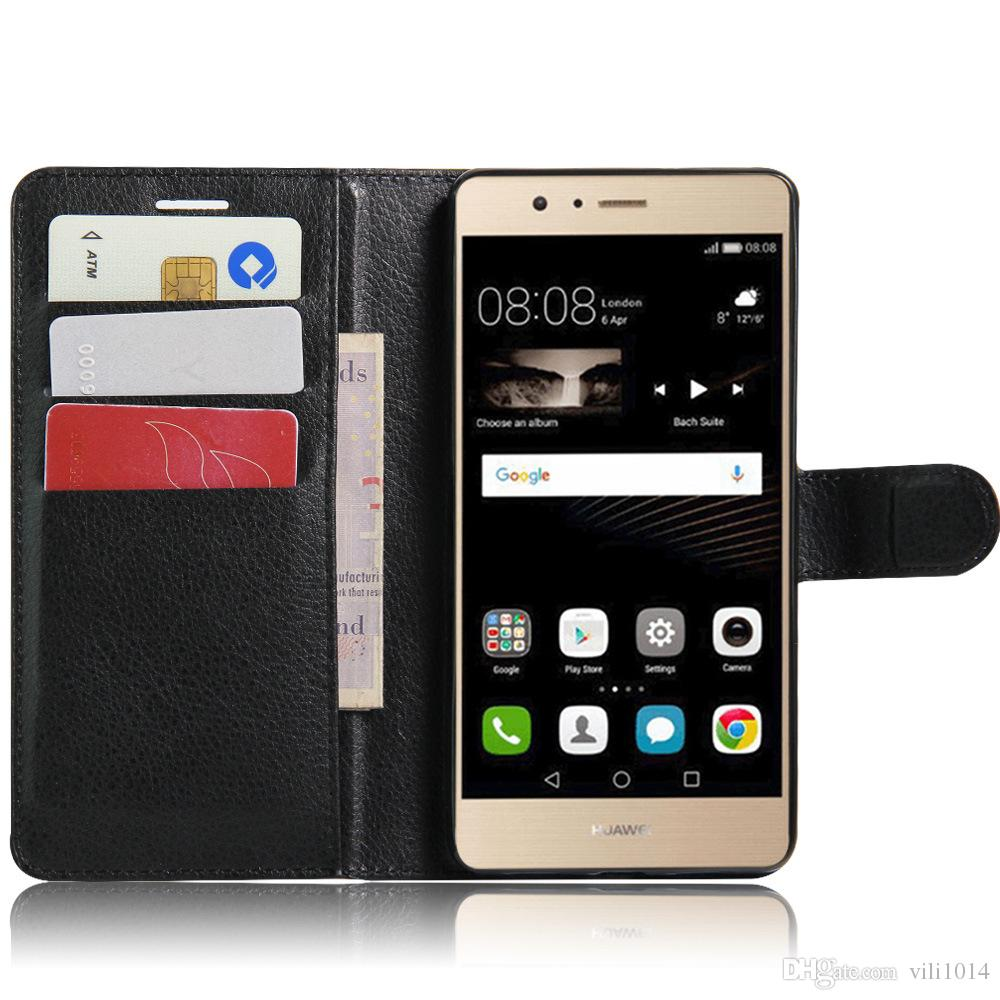 Wallet PU Leather Filp Case Cover For Huawei P7 P8 P9 Lite G9 G630 Y625 Y550 with Card Slot Photo Frame Phone Bag
