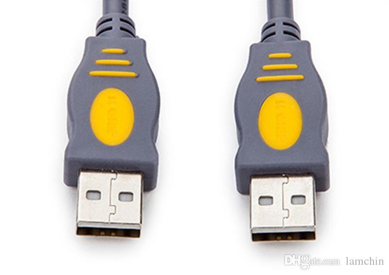 USB 2.0 النوع A إلى A محول موصل ذكر لذكر 1.5M 5FT تمديد كيبل للطابعة القرص الصلب حزمة