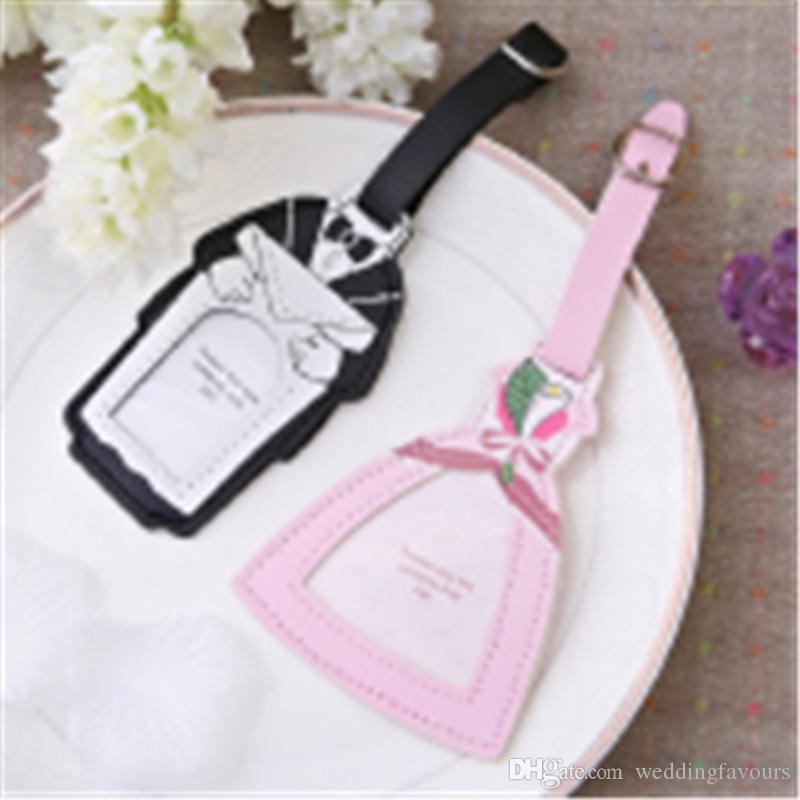 Bride and groom luggage tag and place card holder engagement return bride and groom luggage tag and place card holder engagement return gifts wedding favours souvenirs halloween party supplies handmade wedding favors from solutioingenieria Choice Image