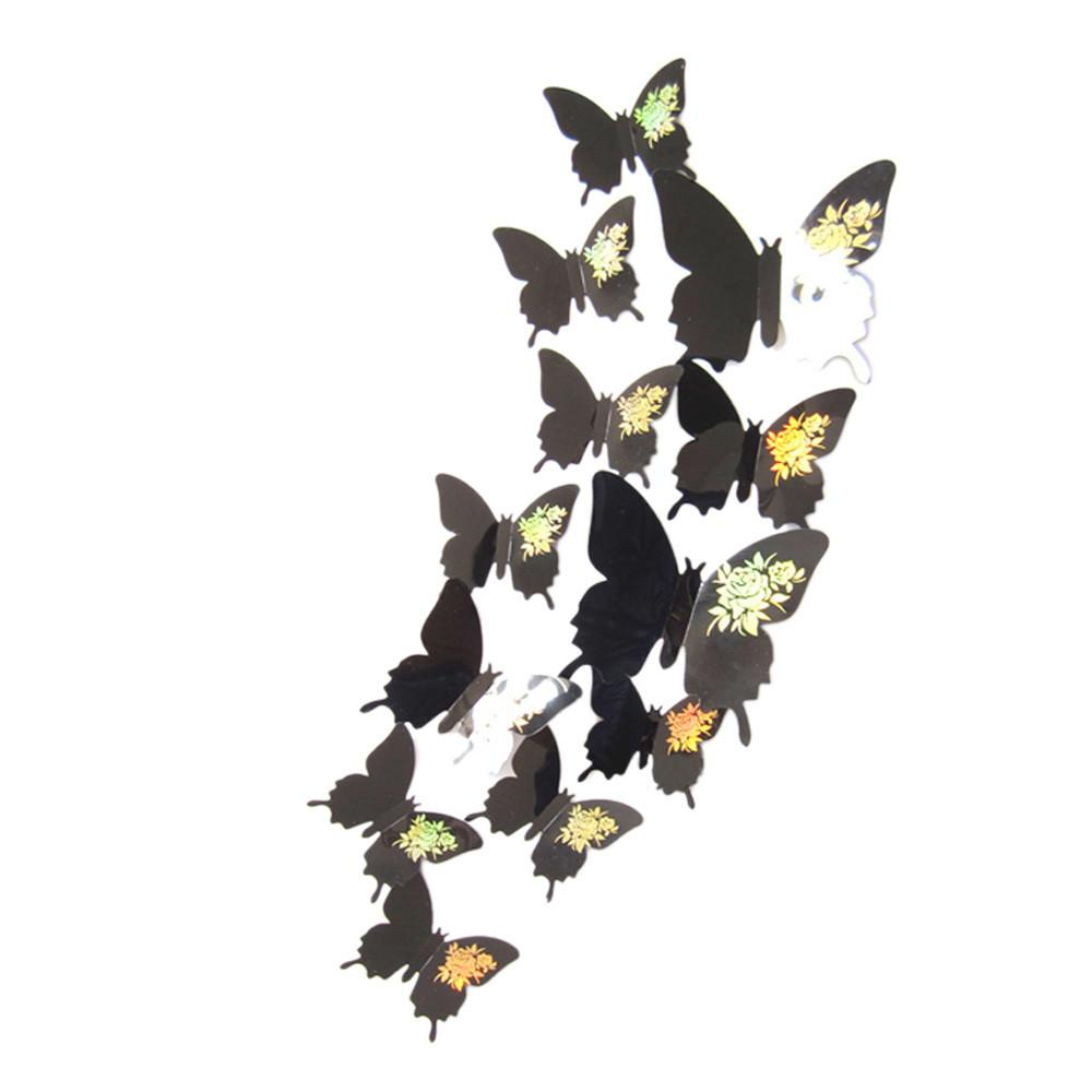 Wholesale D Butterfly Wall Stickers Butterflies Art Decor Decals - Butterfly wall decals 3d