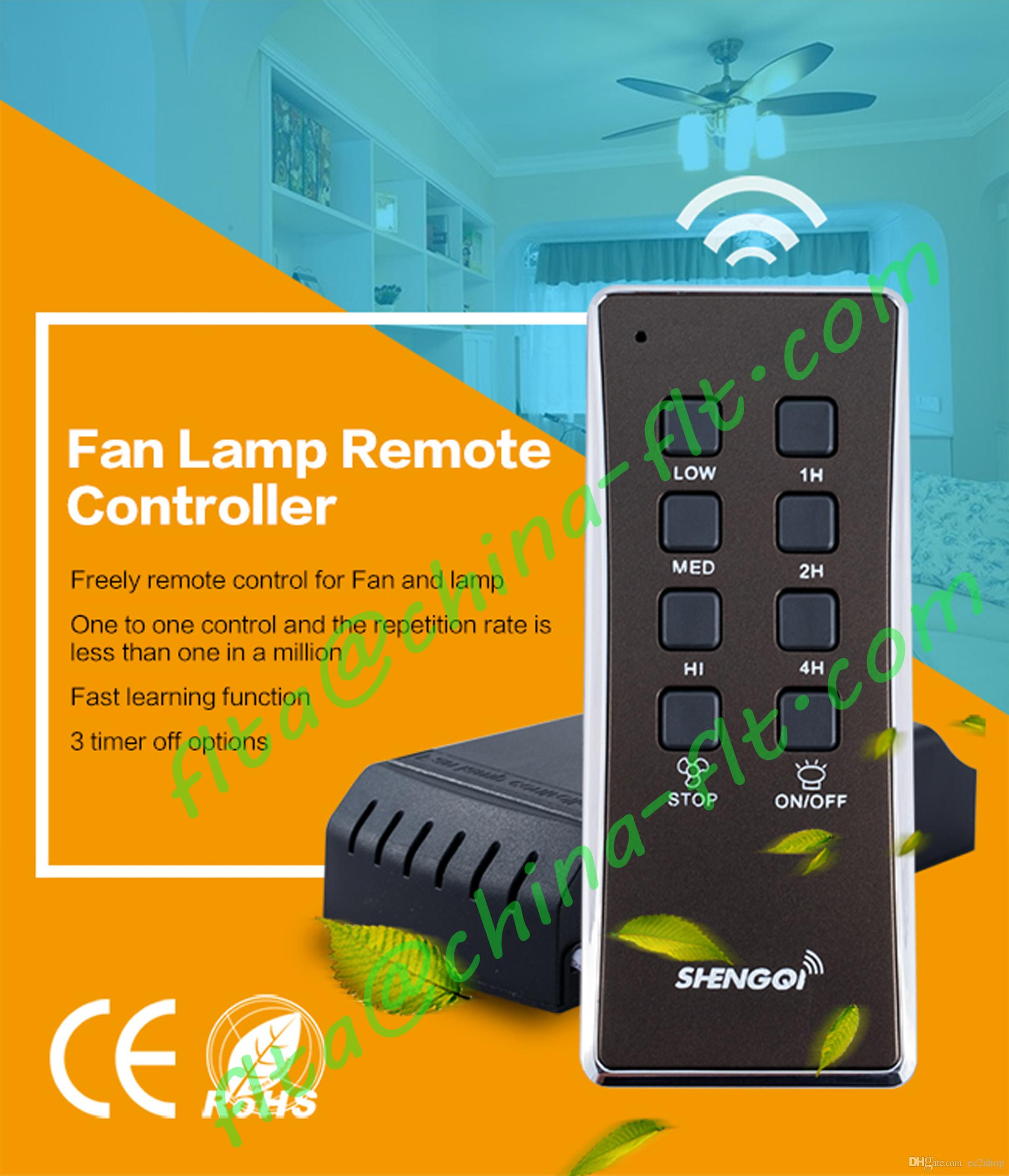 China Fan light Remote Control Switch RF with CE,3 speed control, 3 timer, on off control