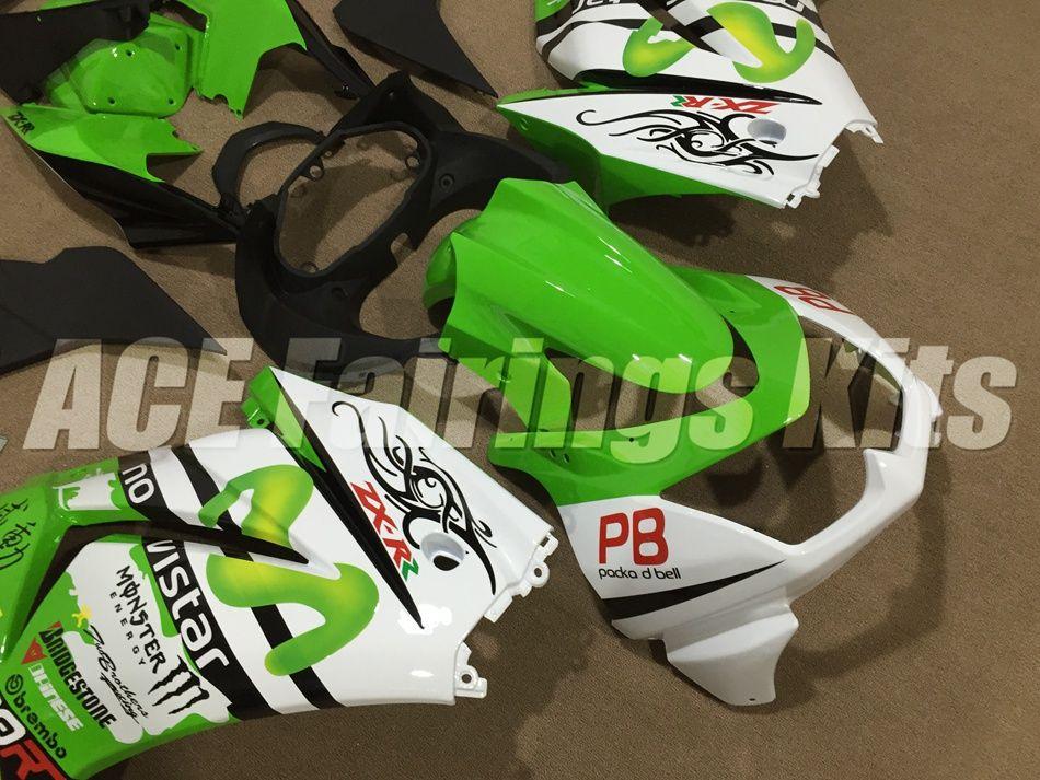 New ABS bike Fairings kit set fit for Kawasaki Ninja 250R EX 250 2008 2009 2010 2011 2012 2013 2014 EX250 08 09 10 11 12 13 14 cool style