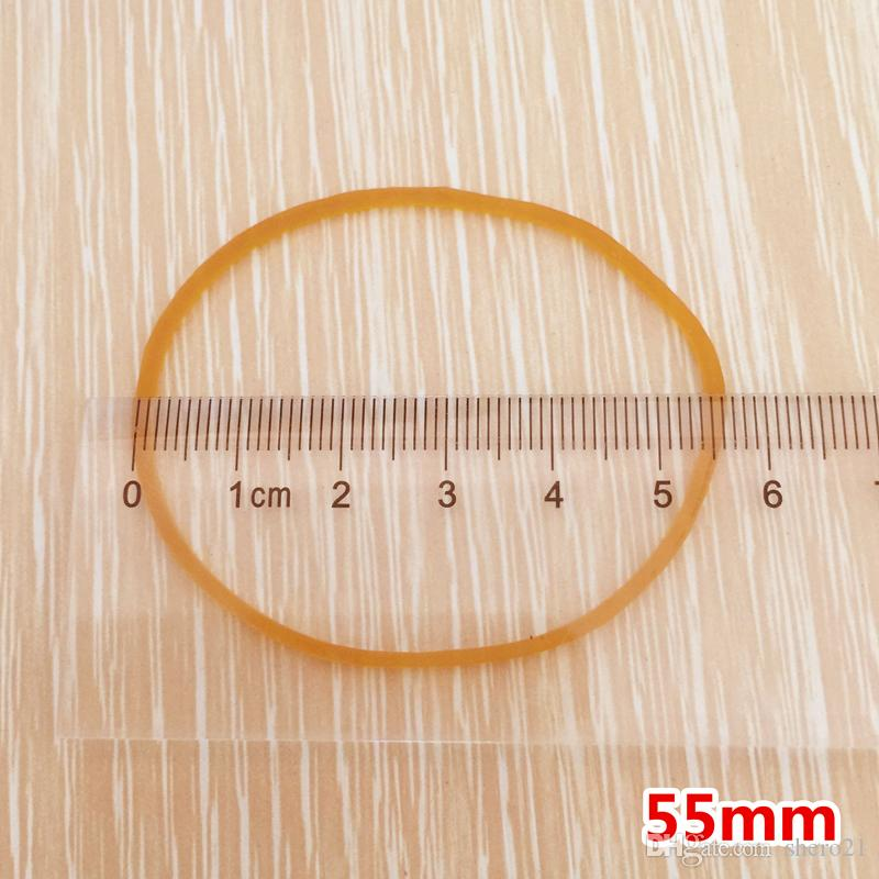 High Quality /Pack Rubber Bands 55mm Rubber Band Elastic Heavy Duty Office Strong Packing Packaging Rubber Bands Papelaria