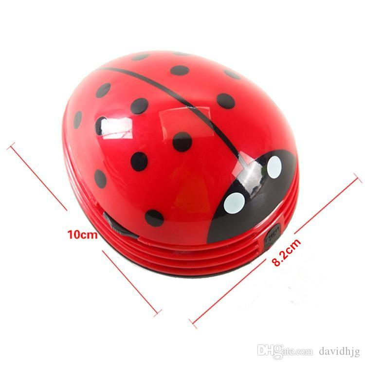 Best Mini Ladybug Desktop Coffee Table Vacuum Cleaner Dust Collector For  Home Office Under $3.22 | Dhgate.Com