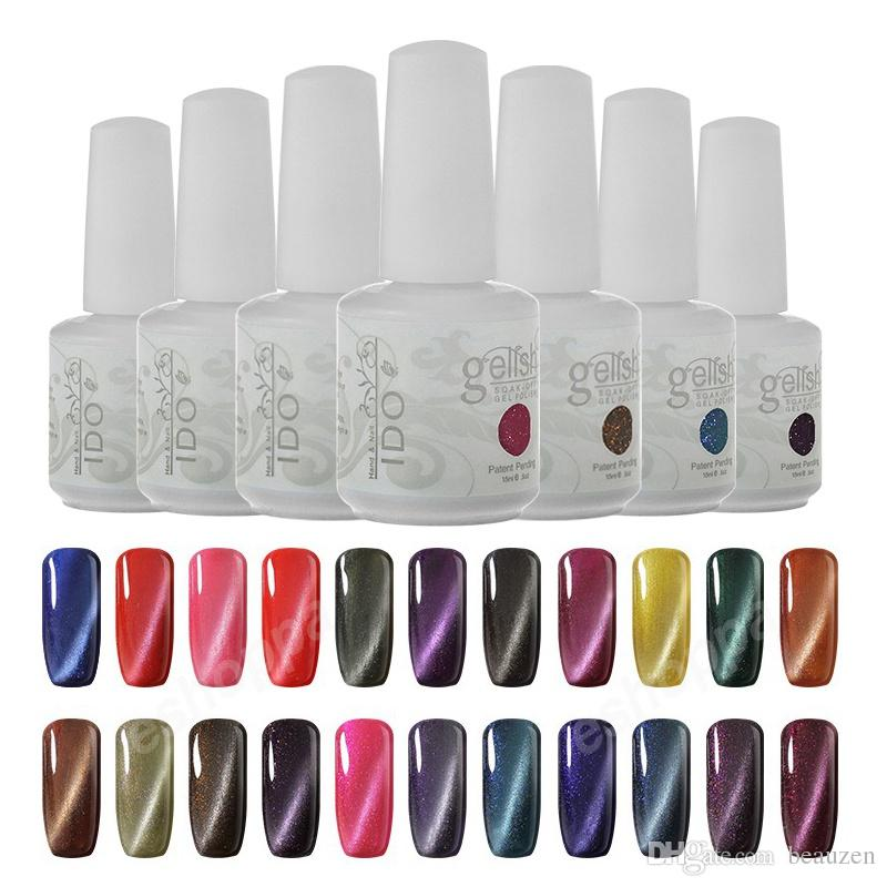 Any Ido Gelish Uv Led Gel Nail Polish Cat Eye Magnetic Available Nutra Pink From Beauzen 1145