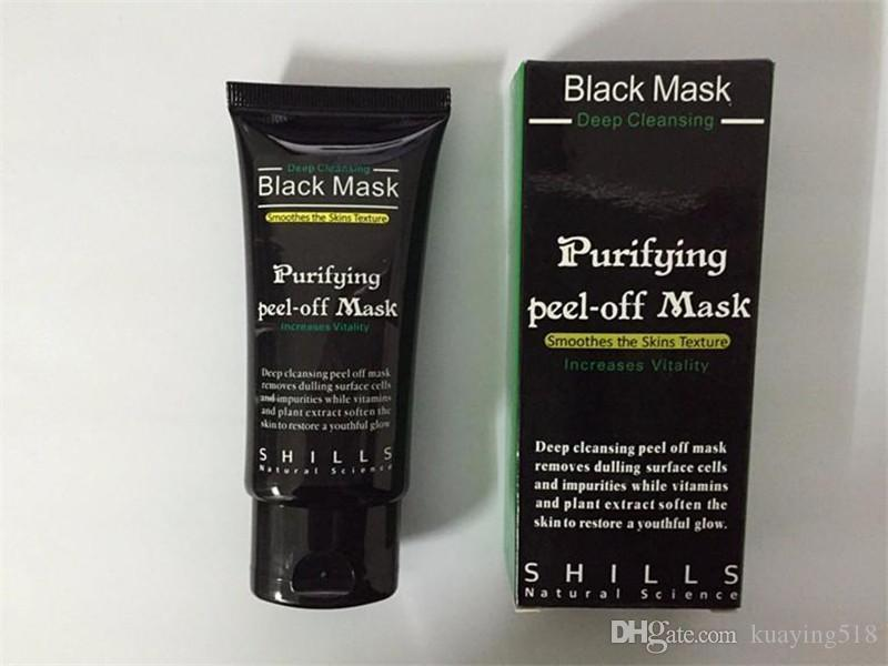 2017 Noir Aspiration Masque Anti-Vieillissement 50 ml SHILLS Nettoyage Profond Purifiant Peel Off Masque Visage Noir Retirer Masques Peel Comédons