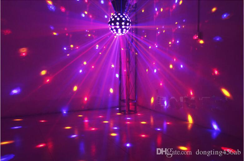 Lumiere RGB LED Stage Effect Lighting 30W Auto Sound Magic Ball Disco Lighting shower laser Projector party DJ club magic Lamp
