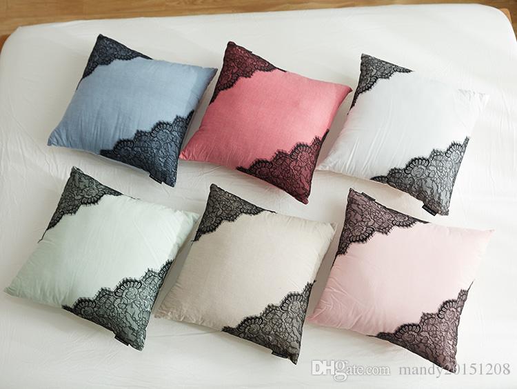 High Quality Retro Style Fashion Map New Home Decorative Cushion Sofa Throw Pillowcase Square Cojines Cotton Linen Almofadas Home & Garden