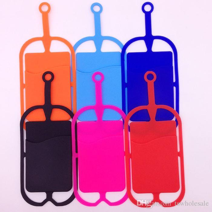 Evrensel KIMLIK Boyun Askısı ile Cep Telefonu Kılıfı KIMLIK Kredi Kartı Tutucu Telefon Kılıfı Kapak Sling Kart Yuvası için Akıllı Telefonlar