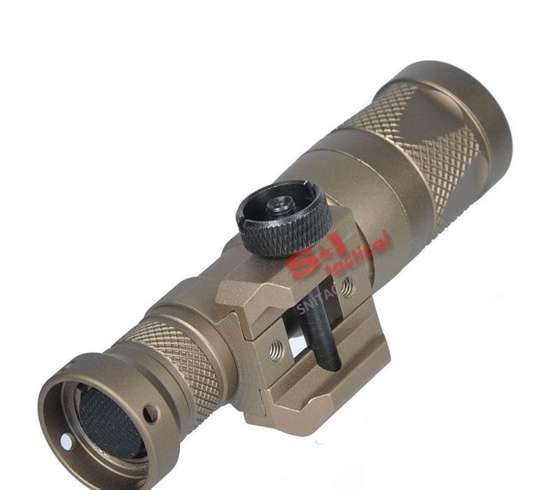 Тактический SF M300V-IR Разведчик Light Gun Light LED Белый и ИК-выход Темная Земля