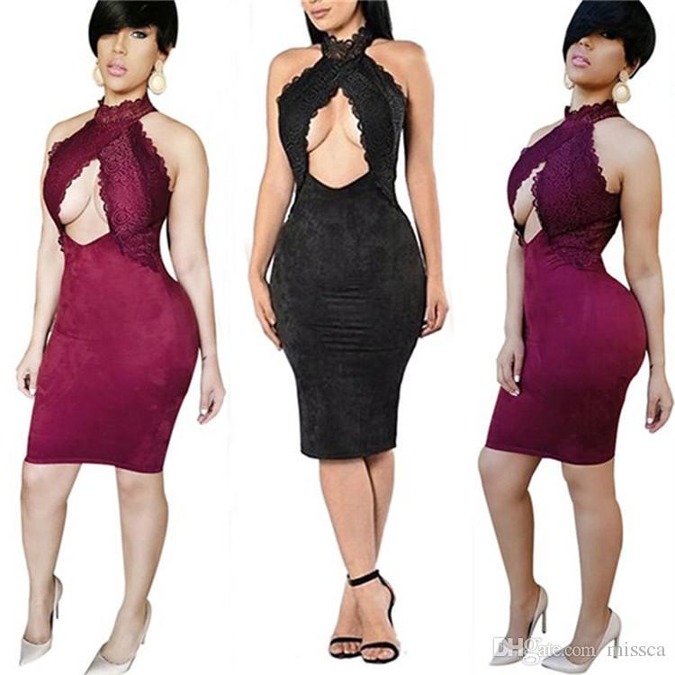 2017 2017 New Design Western Style Women Dress Sleeveless Sexy ...