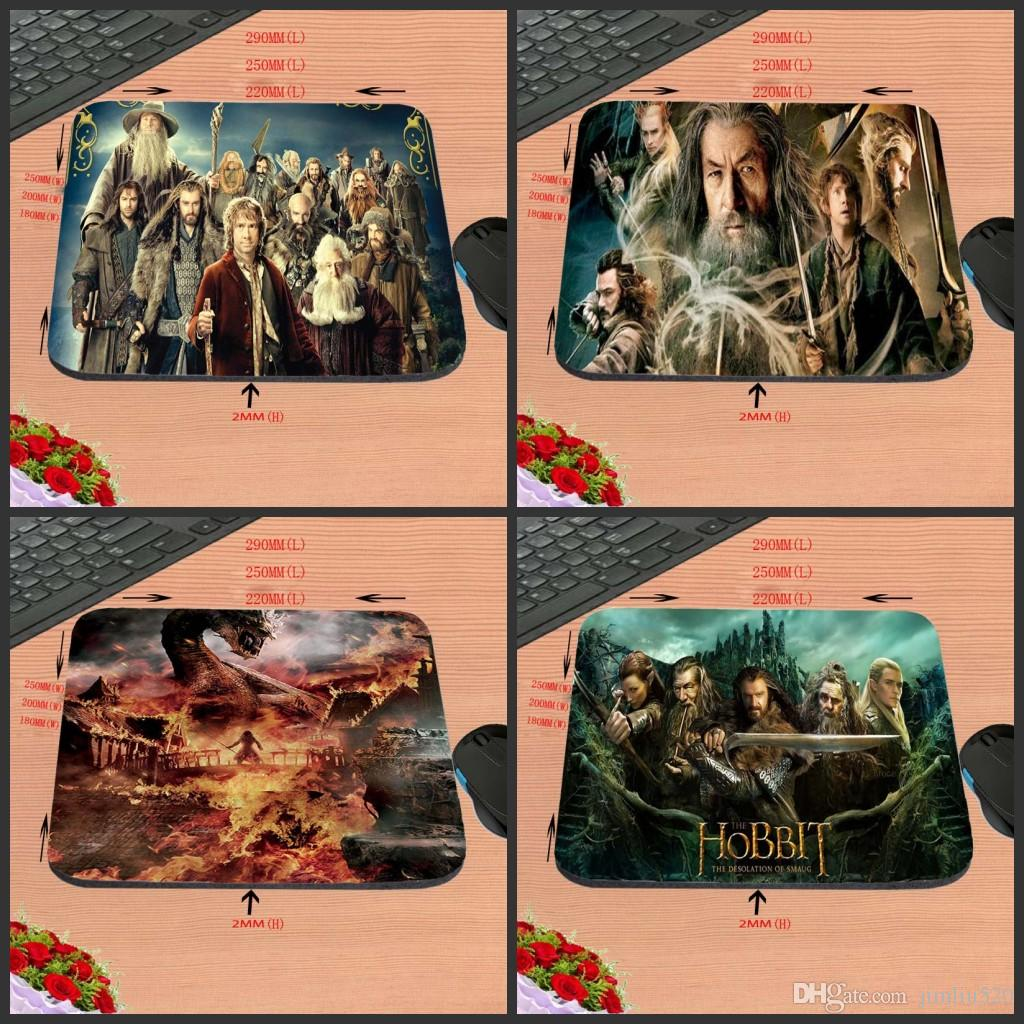 Diy Movie Hobbit Customization High Definition Computer Mouse Pad Non Slip Rubber Rectangle Decorate Your Desk As A Gift