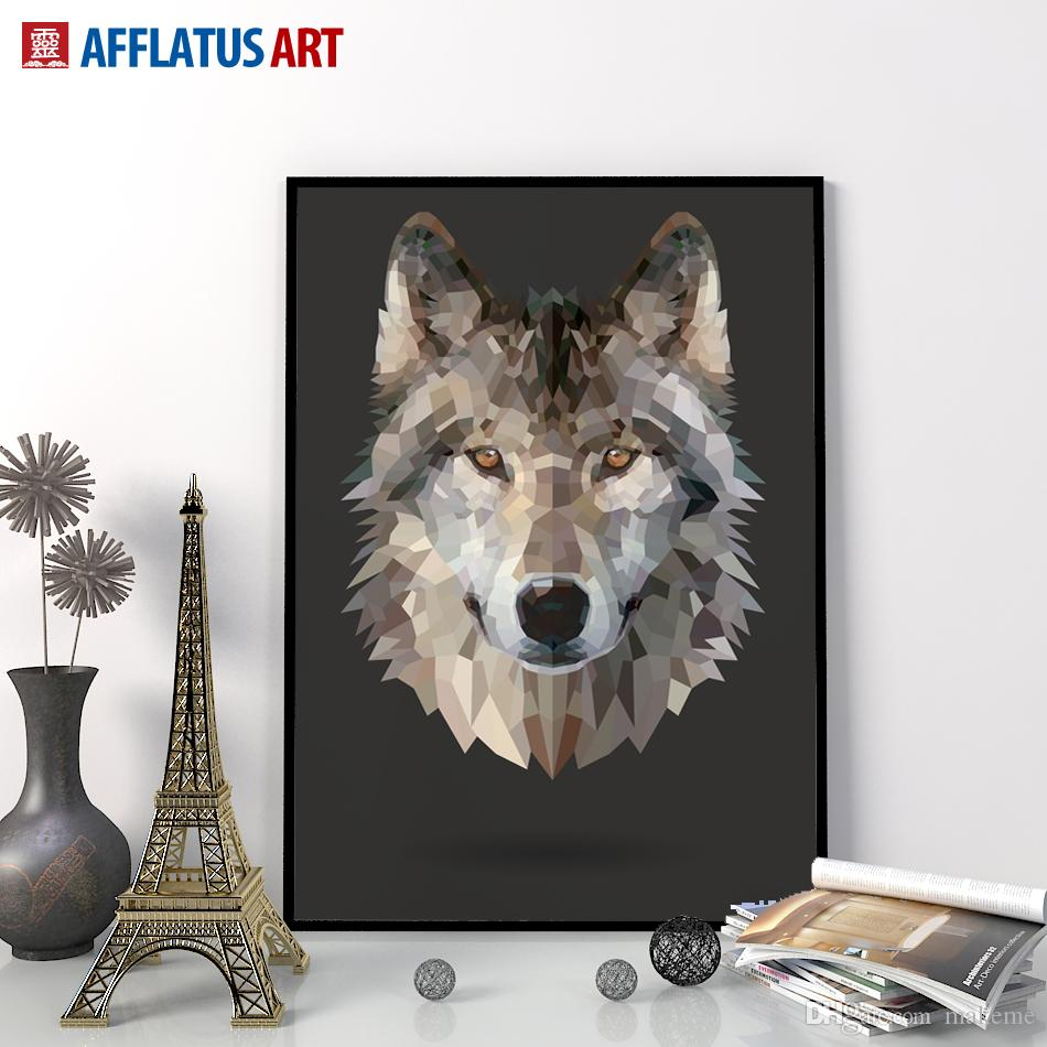 Wolf Wall Art 2017 nordic wolf wall art print poster wall picture posters canvas