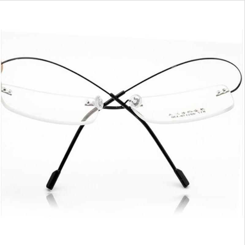 2018 Wholesale Superelastic Steel Wire Frameless Glasses Frame Ultra ...