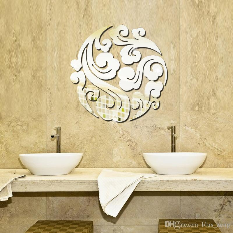 Brilliant 90+ Mirror Wall Decals Decorating Design Of 28+ [ Wall ...