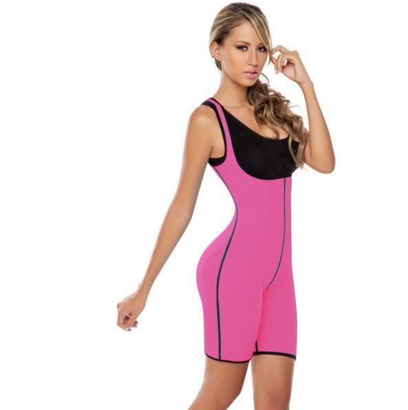 Mulheres Esporte Trainer Shaper Do Corpo Trainer Espartilho Plus Size Emagrecimento Cueca Terno Dama Shapewear Frete Grátis