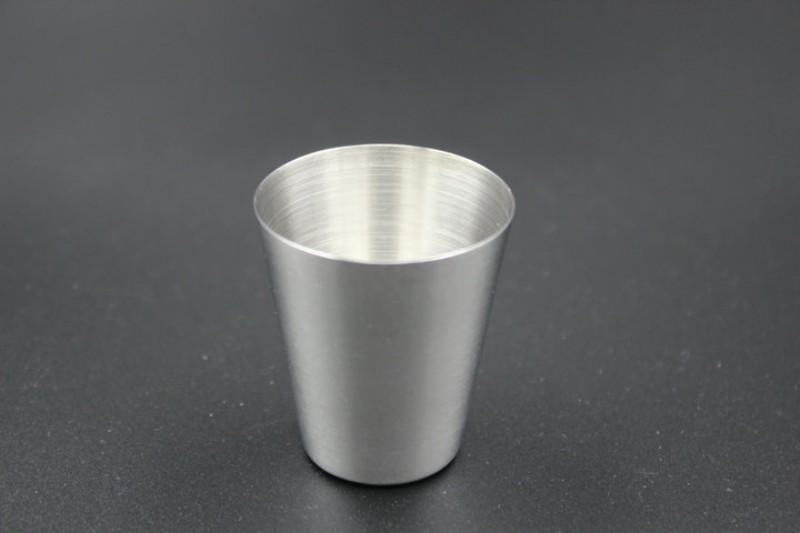 30 ML Mini Tasse Mug 304 En Acier Inoxydable Café Bière Vin Tasses D'eau En Plein Air Outils De Boire Portable