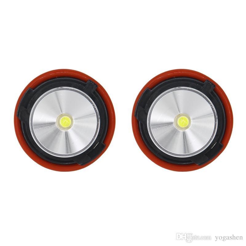6W 12W LED High Power 7000k Angle Eyes Halo Xenon Marker Ring Light Bulb Canbus For BMW E39 E53 E60 E61 E60 E61 E65 X5