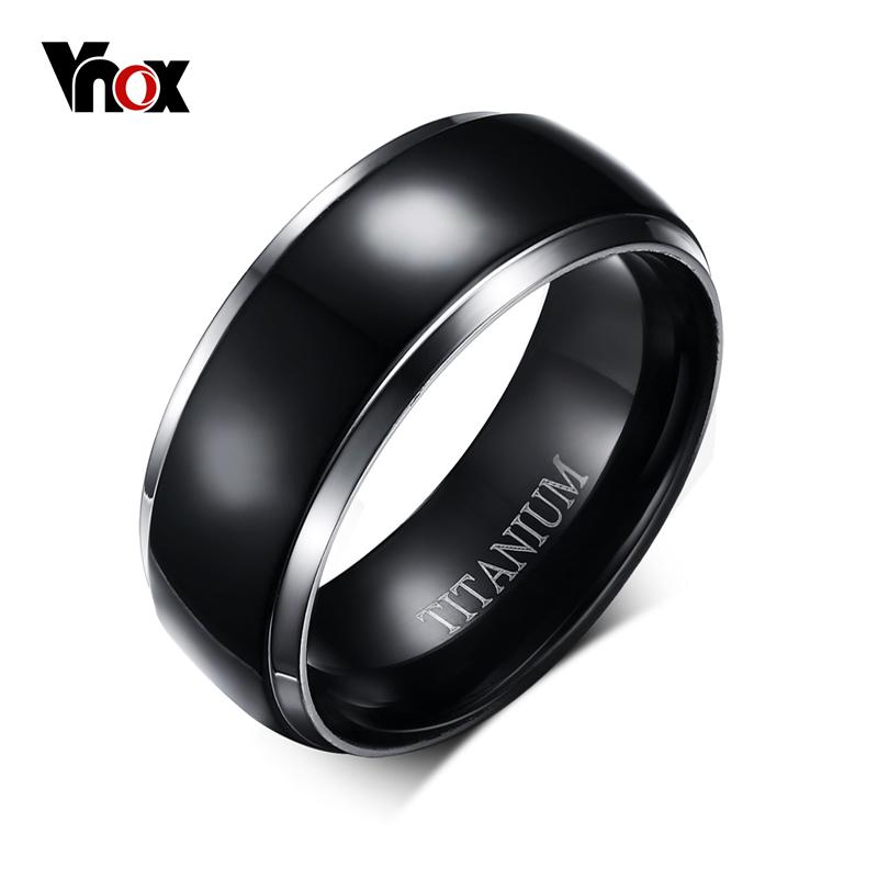 the large context rings ring mens s bevelled titanium bands beaverbrooks jewellers edge men
