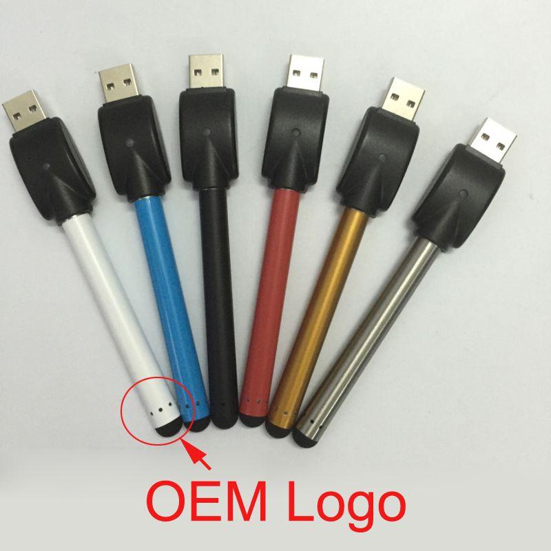 Colorful O penna vape bud touch batteria con caricatore USB 510 thread CE3 penna vaporizzatore cartucce olio denso e sigaretta atomizzatore di hash