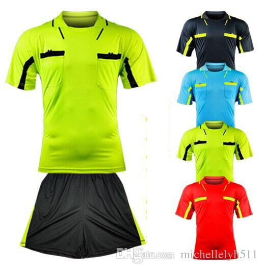 b9c5f56b1 2019 Benwon Fair Play Professional Soccer Referee Jerseys Sports Clothing  Suit Sets Football Referee Kits De Futbol Judge T Shirts From  Michellelyh511