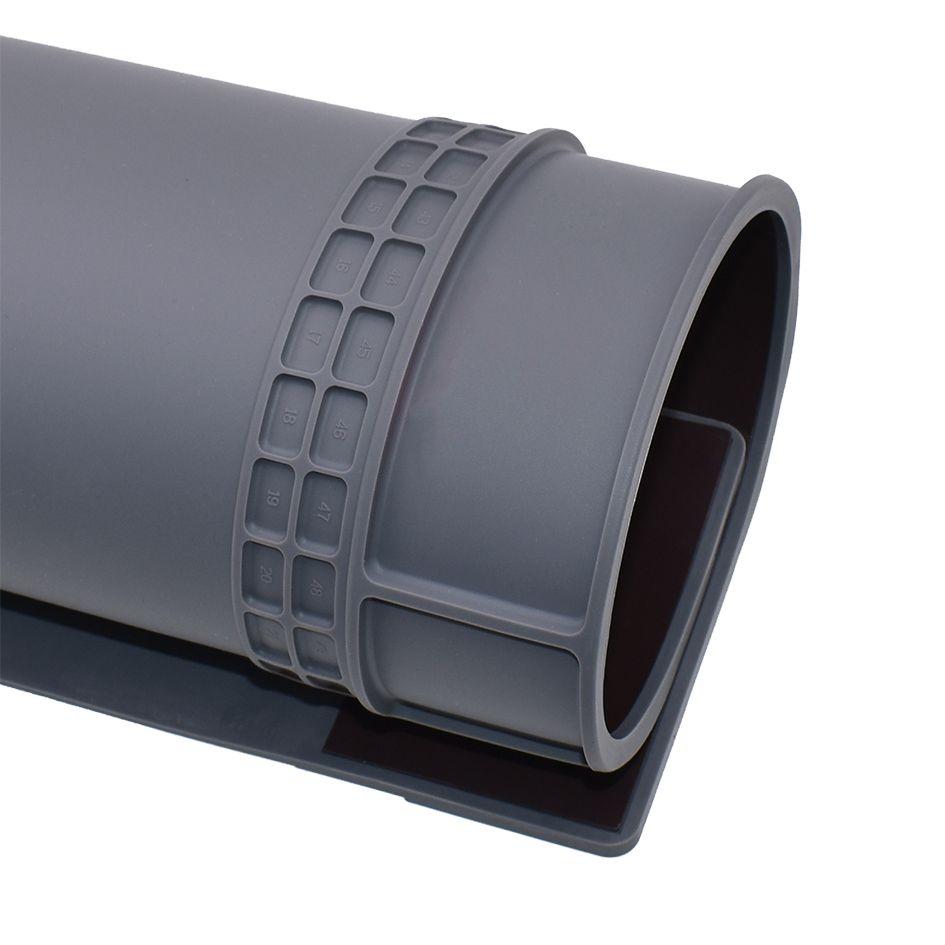 Серый 405 мм * 305 мм ремонт антистатический коврик расширенный DIY инструмент ESD мат сварки скамейке Лента силиконовые паяльник инструмент 30 шт./лот