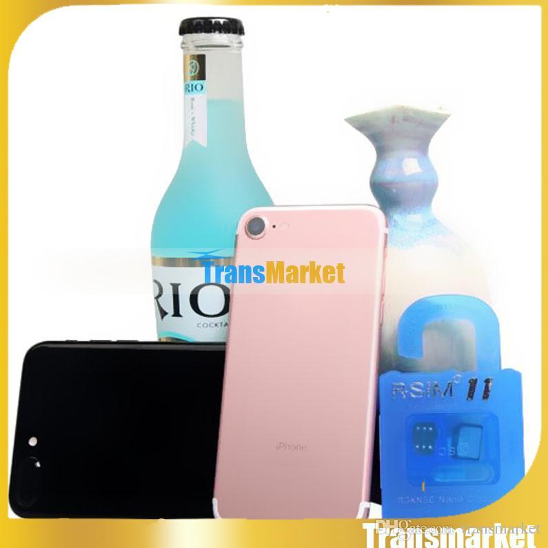 RSIM11 R SIM 11 r-sim11 rsim 11 desbloquear para ios7-10.x iPhone 7 6 plus 6 5 CDMA GSM WCDMA SB AU SPRINT 3G 4G iOS 7 8 9 10 fábrica diretamente