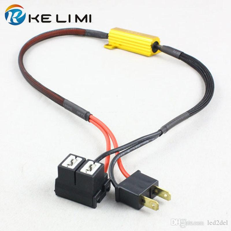Automobiles & Motorcycles H8 H11 Led Drl Fog Light Canbus Error Free 50w Load Resistor Decoders Cancellers Accessories