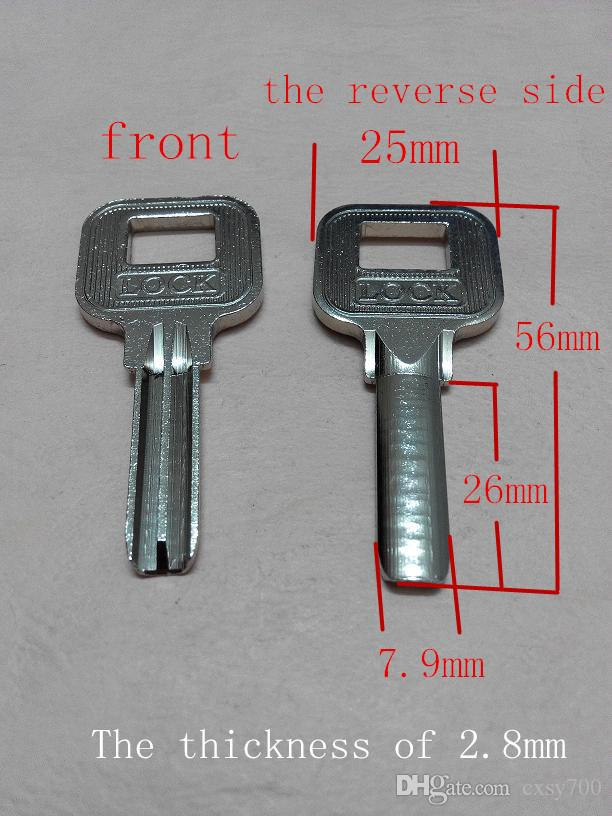 Gentil Anti Theft Door Lock Outside Crescent Atomic Key Embryonic Card Before Long  26 Mm Width Is 7.9 Mm Thickness Of 2.8 Mm Locks Crescent Atomic Key Embryo  ...