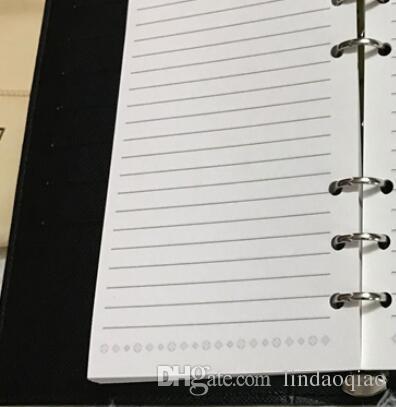 2017 Famous Brand Agenda Luxury Brand Note LIBRO Vera Pelle Agenda Vera Pelle con scatola di carta Spedizione gratuita Note libri Stile di vendita calda