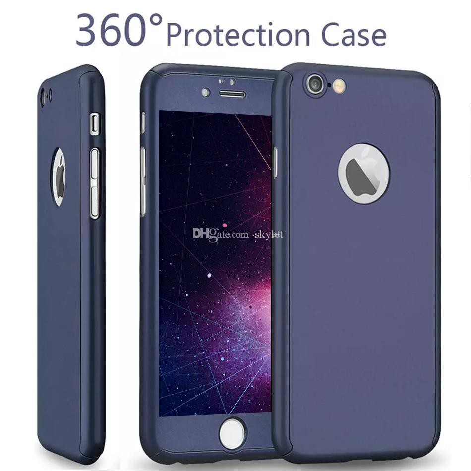 360 grad hülle iphone 7 weiß