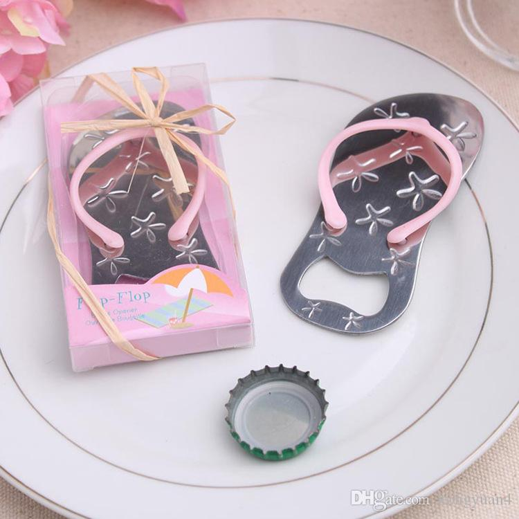 Wedding favors gifts Slipper bottle opener flip flop Beer bottle opener wedding Party decoration