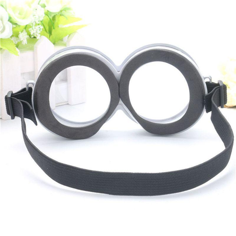 Benim minion kostüm gözlük eğlenceli parti sahne 3D yuvarlak cam doğum günü parti malzemeleri dekorasyon TO141