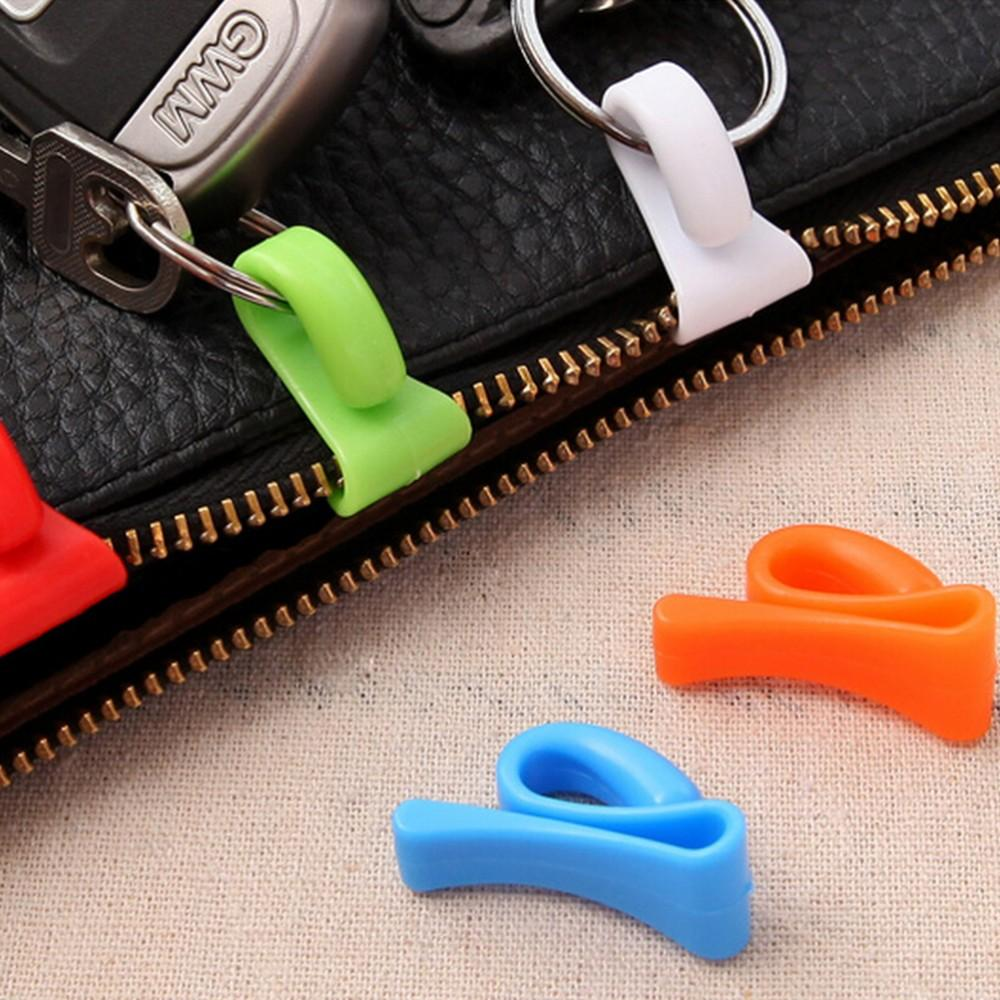 Home & Garden 2 Pcs Random Color Plastic Novelty Mini Anti-lost Hook Within The Bag Key Storage Holder Rack Special Summer Sale